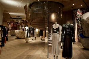 Fly the flagA visit to the new Alexander McQueen London flagship store is more than a shopping experience. Creative director Sarah Burton worked with architect Smiljan Radic to include a gallery space on the second floor. 27 Old Bond Street, London W1