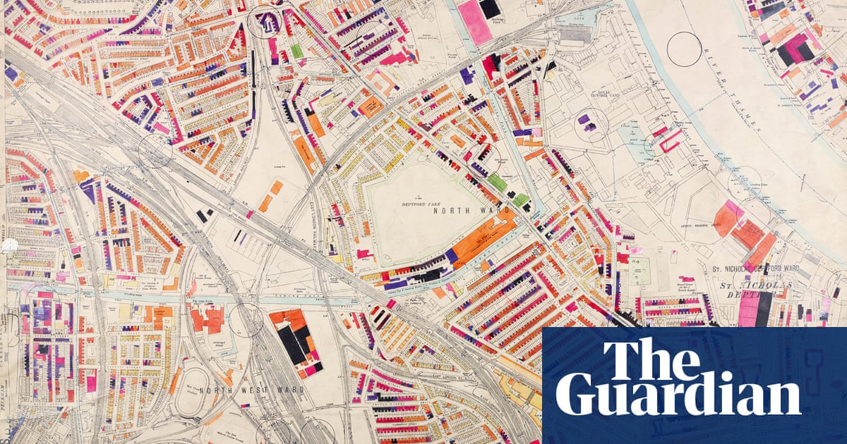 Map North West London.The Meticulously Hand Coloured Bomb Damage Maps Of London In