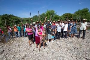 Activist Jesús Salazar, in Suyapa, Pespire