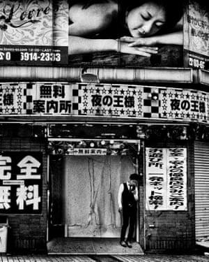 Moriyama earned himself a reputation early on as a provocative street photographer