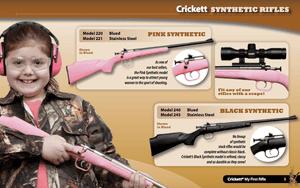 Crickett synthetic rifles catalog