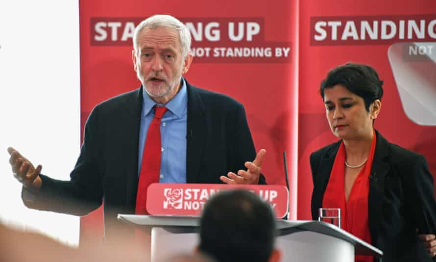 Jeremy Corbyn and Shami Chakrabarti