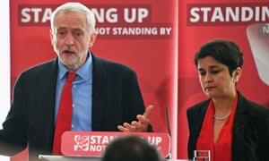 Jeremy Corbyn gave Shami Chakrabarti a peerage after her inquiry into antisemitism in Labour.