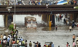 Flooding in Surat in 2006 killed 150 people, according to official figures. The unofficial death toll was above 500.