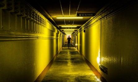 The 150-metre entrance to Scotland's Secret Bunker.