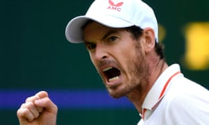 Andy Murray goes ahead.