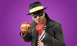 The Hamburglar: a friend of Ronald McDonald?