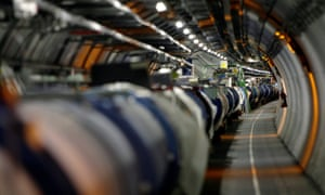 The LHC tunnel. Faster than ever.