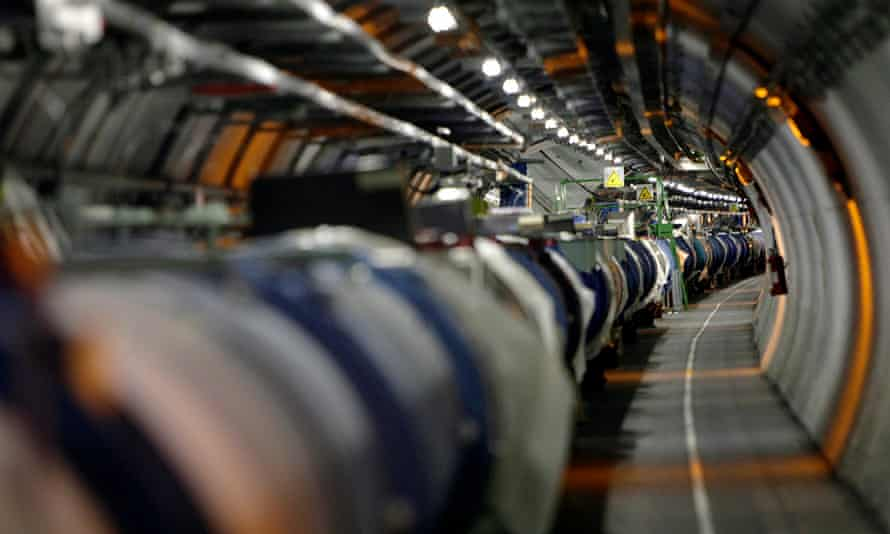 The Large Hadron Collider. Now turned up to 13.