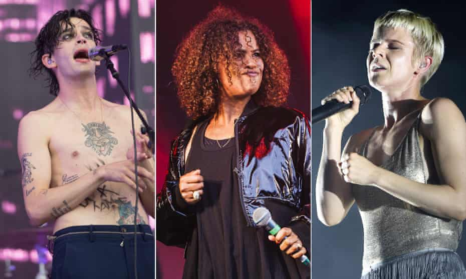 Matty Healy from the 1975, Neneh Cherry and Robyn