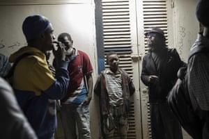 Activists in Khartoum, Sudan, 11 January