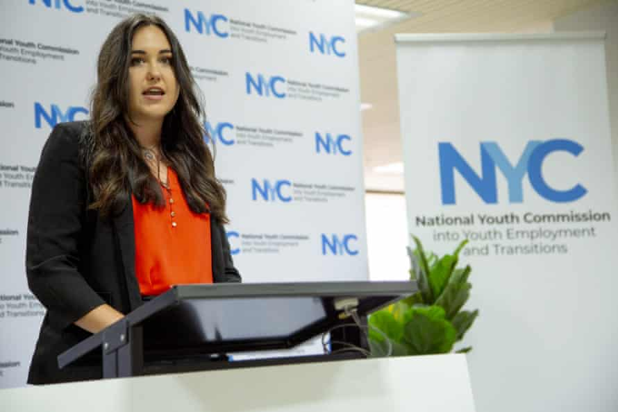 Sophie Johnston from the National Youth Commission Australia