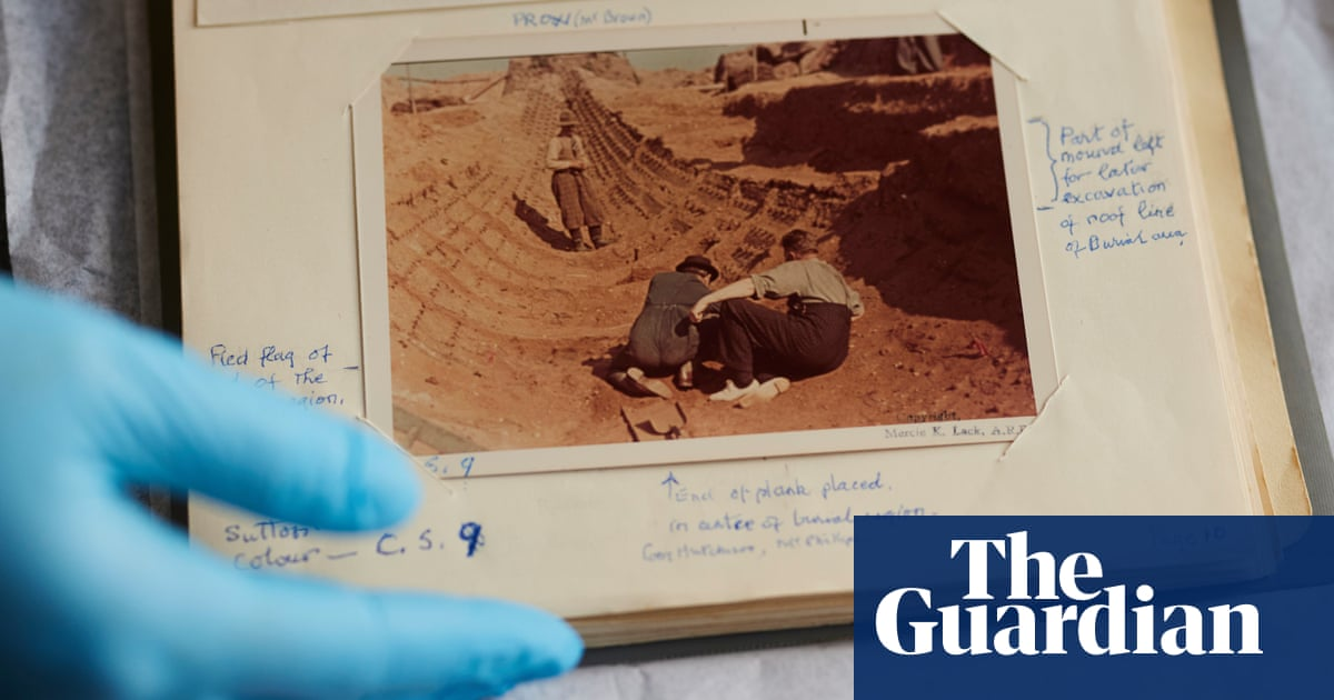 'Prickles down the neck': project reveals unsung female heroes of Sutton Hoo dig
