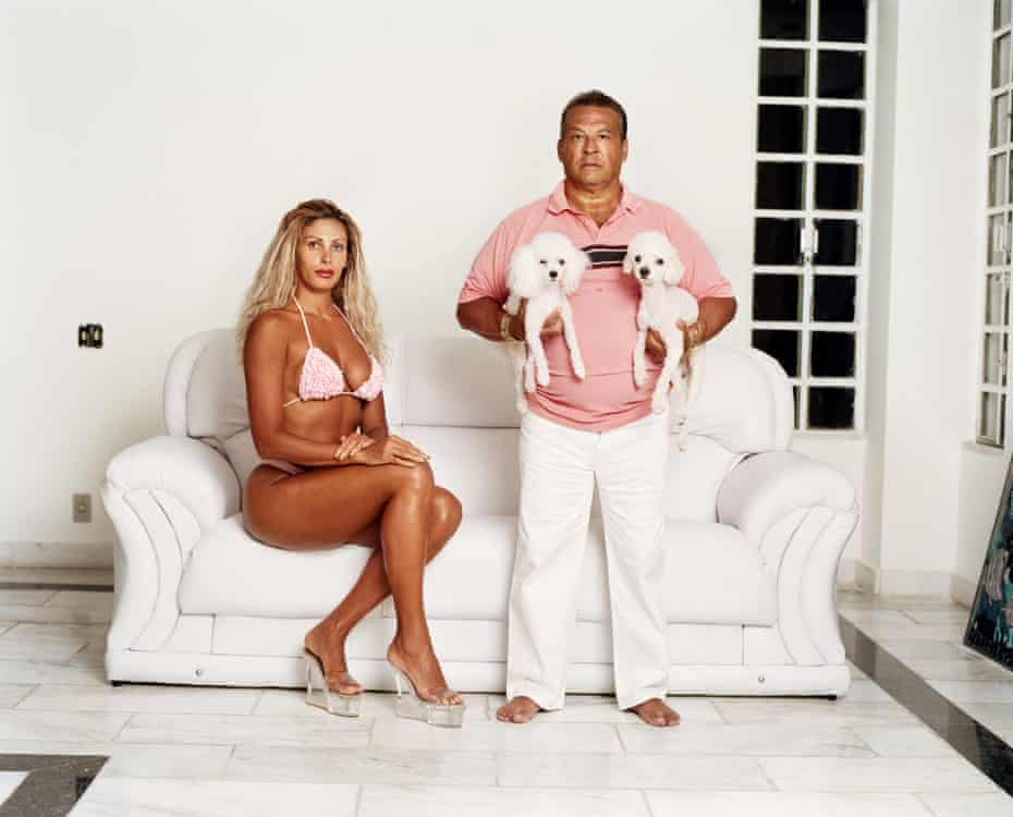 Ox and Angela, plastic surgeon and wife, Rio, Brazil, October 2002 by Zed Nelson