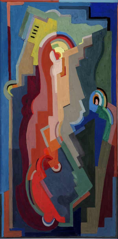Pioneer … Mainie Jellett's Abstract Composition, 1935.