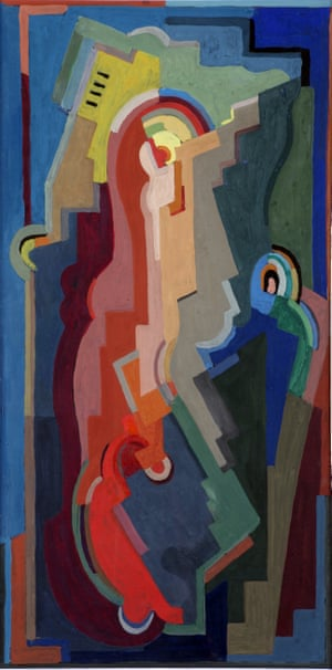 Pioneer … Mainie Jellett's Abstract Composition, 1935.