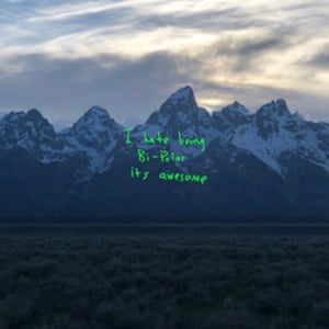 The cover photo of Kanye West's new album Ye