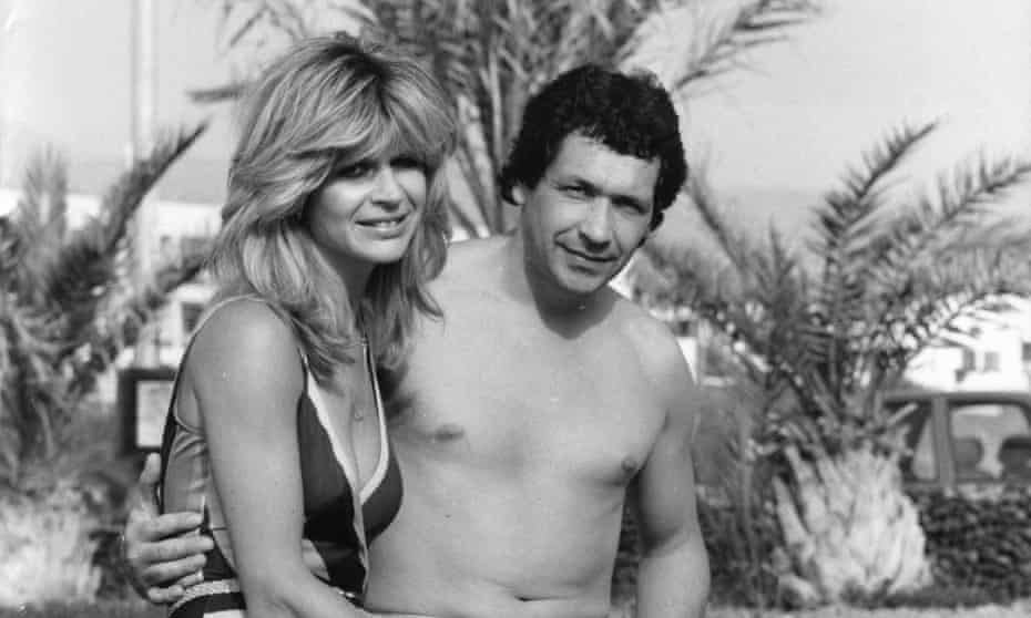 John Palmer with his wife, Marnie, in Tenerife.