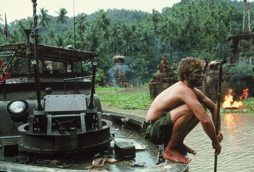 Sam Bottoms in Apocalypse Now, directed by Frances Ford Coppola.