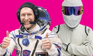 Move over, Stig ... Tim Peake is just the man for Top Gear.