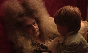 An extraordinary, eerie spectacle … Jean-Pierre Léaud as Louis XIV