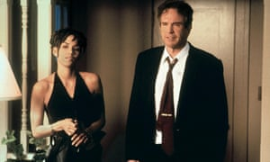 Beatty with Halle Berry in Bulworth.