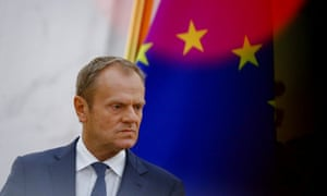 European Council President Donald Tusk warns trade wars can turn into 'hot conflicts'.