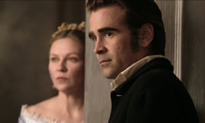 Caddish and cunning ... Colin Farrell and Kirsten Dunst in The Beguiled