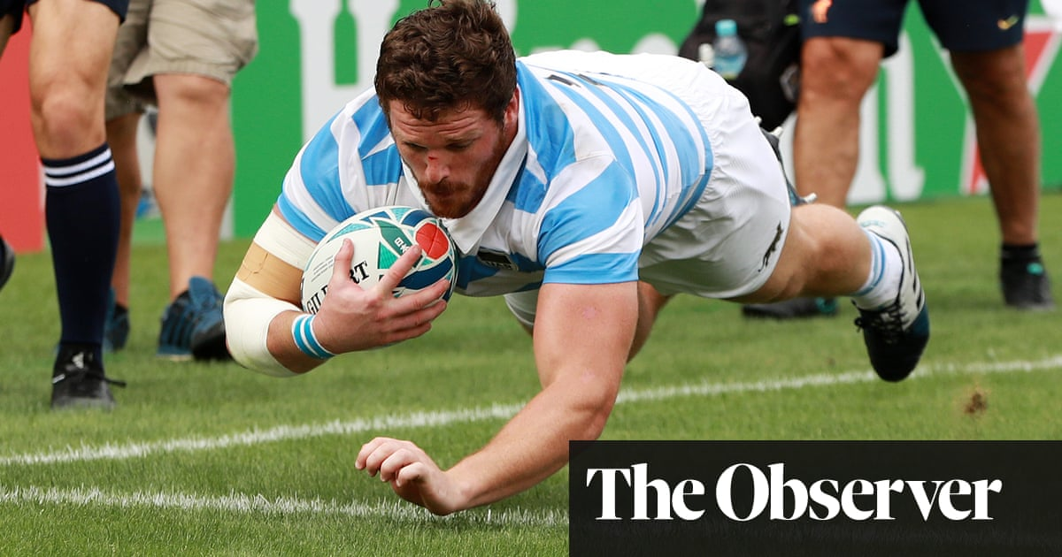 What Eddie Jones will have learned from Argentina's win over Tonga | Robert Kitson