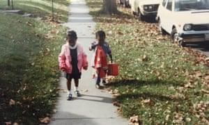 Iweala as a child.