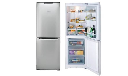 The Hotpoint FF175BP fridge-freezer