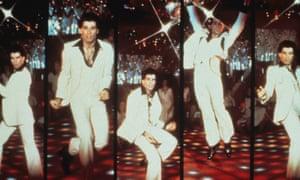 John Travolta: the Cuban heel reaches Fever pitch.