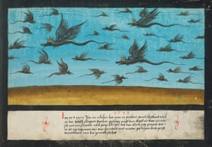 Dragons over Bohemia in 1533