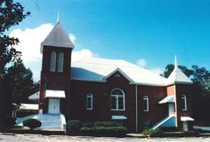 The Friendship Baptist Church in Hamilton, Alabama.