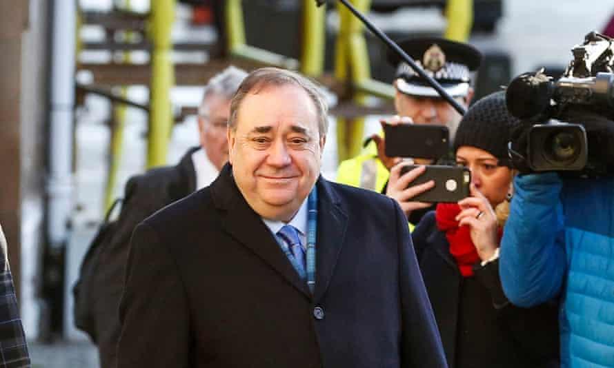 Alex Salmond, Scotland's former first minister.