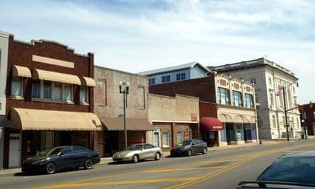 Downtown Anniston, Alabama