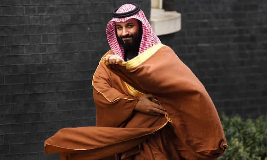 Saudi Arabia's crown prince Mohammad bin Salman.