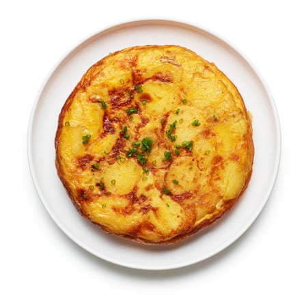 Felicity Cloake's spanish omelette 06. Flip and cook on the other side until springy to the touch.