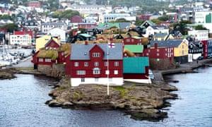 Tórshavn, the capital of the Faroe Islands
