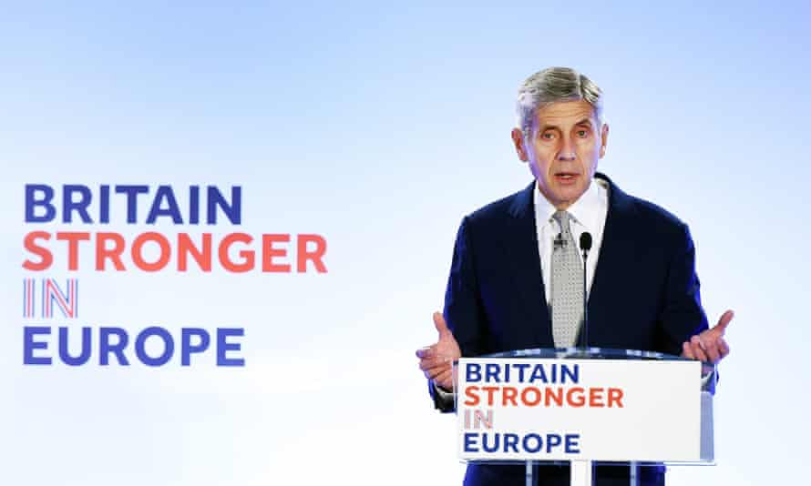 Stuart Rose launches the 'Britain Stronger in Europe' campaign.