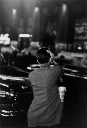 Unemployed and Looking at Rockefeller Center, New York, 1947