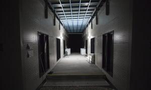 Unaccompanied minors are housed in Nibok camp on Nauru.