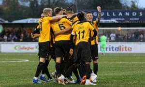 FA Cup roundup: Non-league Guiseley shock Cambridge, Chorley