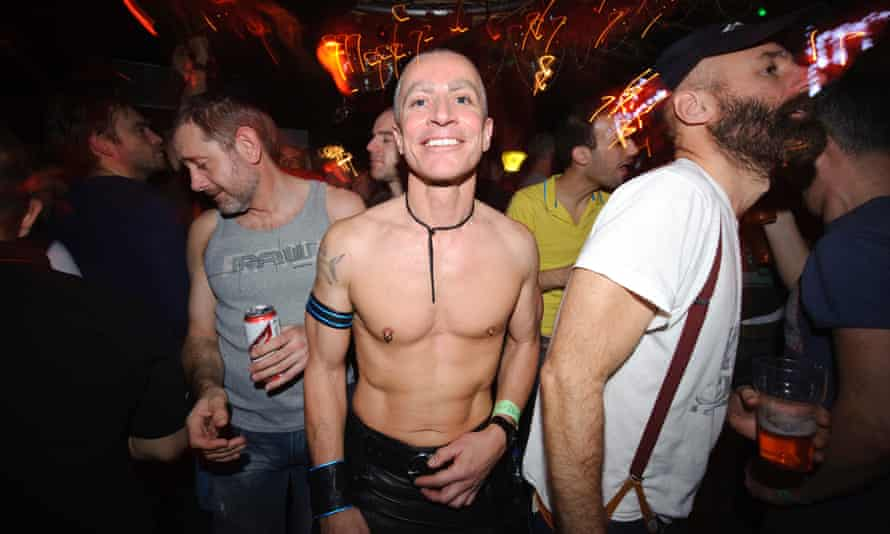 Clubbers at Horse Meat, London.