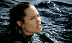 Strong, intelligent, powerful … Angelina Jolie in Tomb Raider 2.