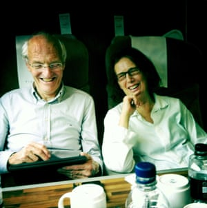 Tomalin with her husband, Michael Frayn