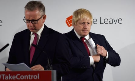 Boris Johnson has been told to have Michael Gove as a running mate.