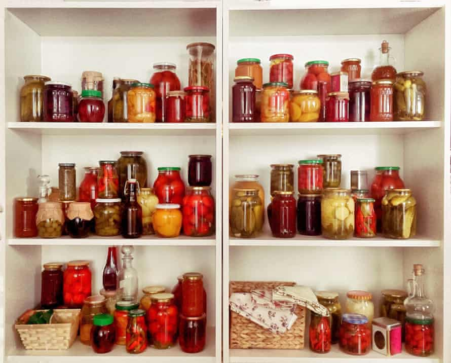 Selection of homemade pickles