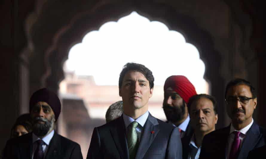 The Canadian prime minister, Justin Trudeau, is in India for a week