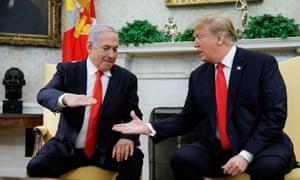 Netanyahu's biggest global ally is Donald Trump.